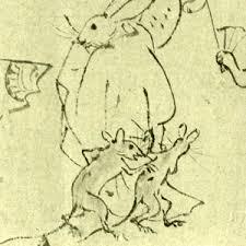 【エイプリルフール】童話の「うさぎと亀」は鳥獣戯画が基になった?