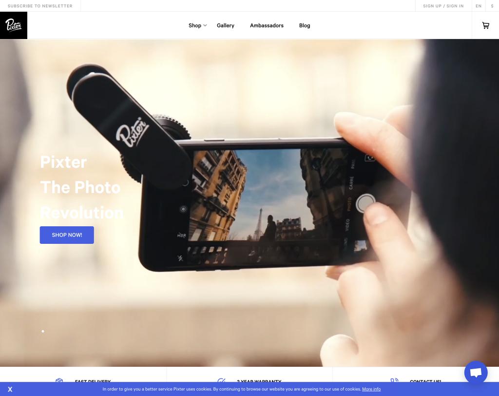Pixter   Lenses   Accessories for Smartphones   Pixter